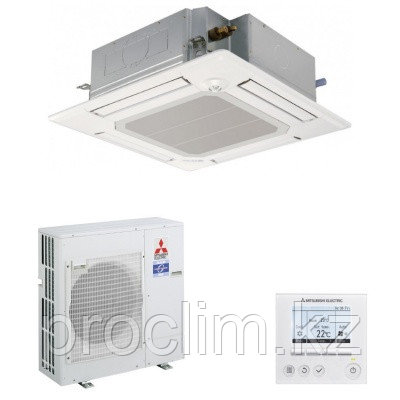 Кассетный кондиционер Mitsubishi Electric PLA-M100EA/PUHZ-P100VKA