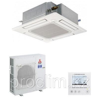 Кассетный кондиционер Mitsubishi Electric PLA-M100EA/PUHZ-P100YKA