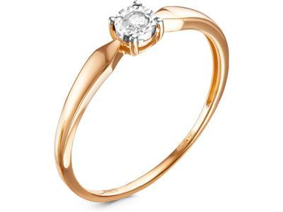 Золотое кольцо Diamond Union 5-2140-103И2-1Б_18