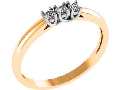 Золотое кольцо Diamond Union 5-2128-103-1К_165