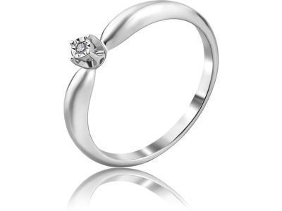 Золотое кольцо Diamond Union 5-2089-103И1-1Б_155