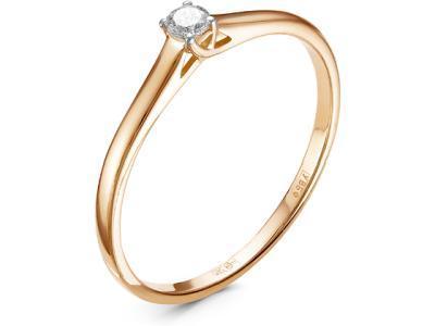 Золотое кольцо Diamond Union 5-1182-103-1К_155