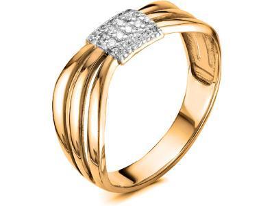 Золотое кольцо Diamond Union 1-646-103К_19