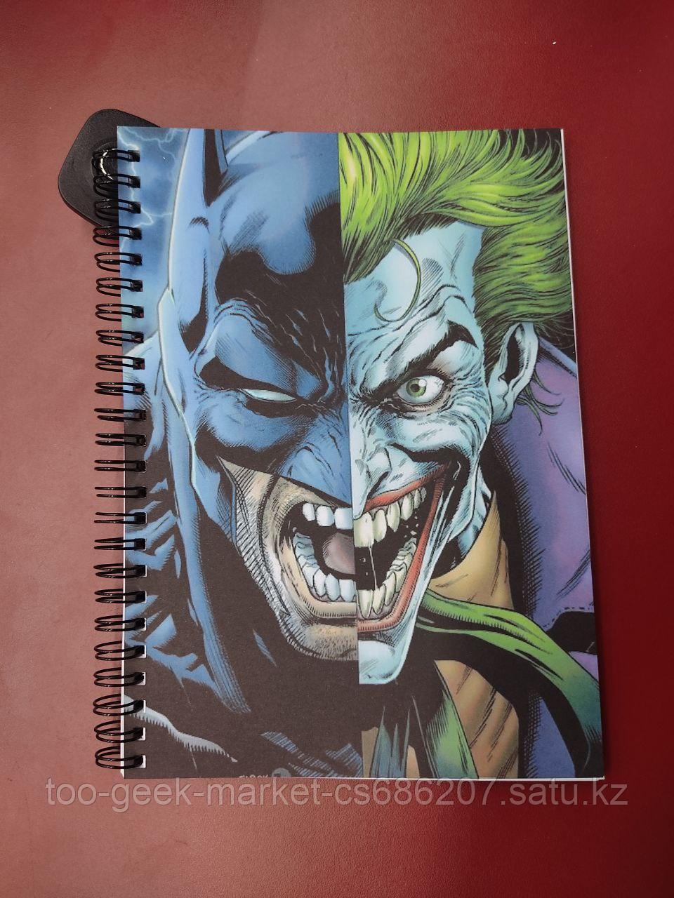 "Блокнот ""Бэтмен & Джокер"""