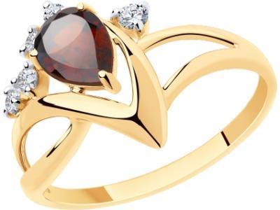 Золотое кольцо Diamant 51-310-00609-2_175