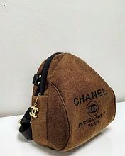 Женская рюкзак коричневый Chanel