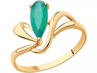 Золотое кольцо Diamant 51-310-00592-3_185