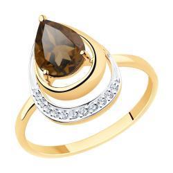 Золотое кольцо Diamant 51-310-00527-2_18