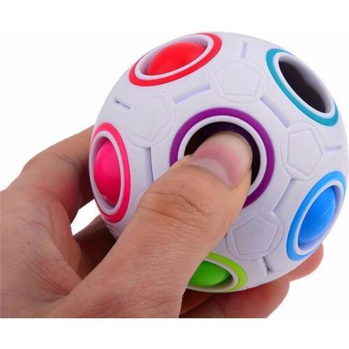 Головоломка Magic Rainbow Ball шар кубика Рубика - фото 2