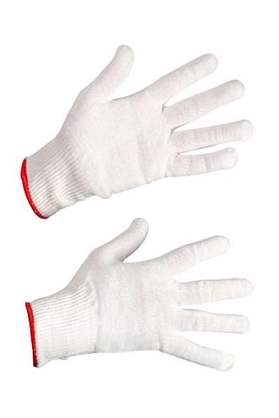 Перчатки рабочие х/б белые (888)
