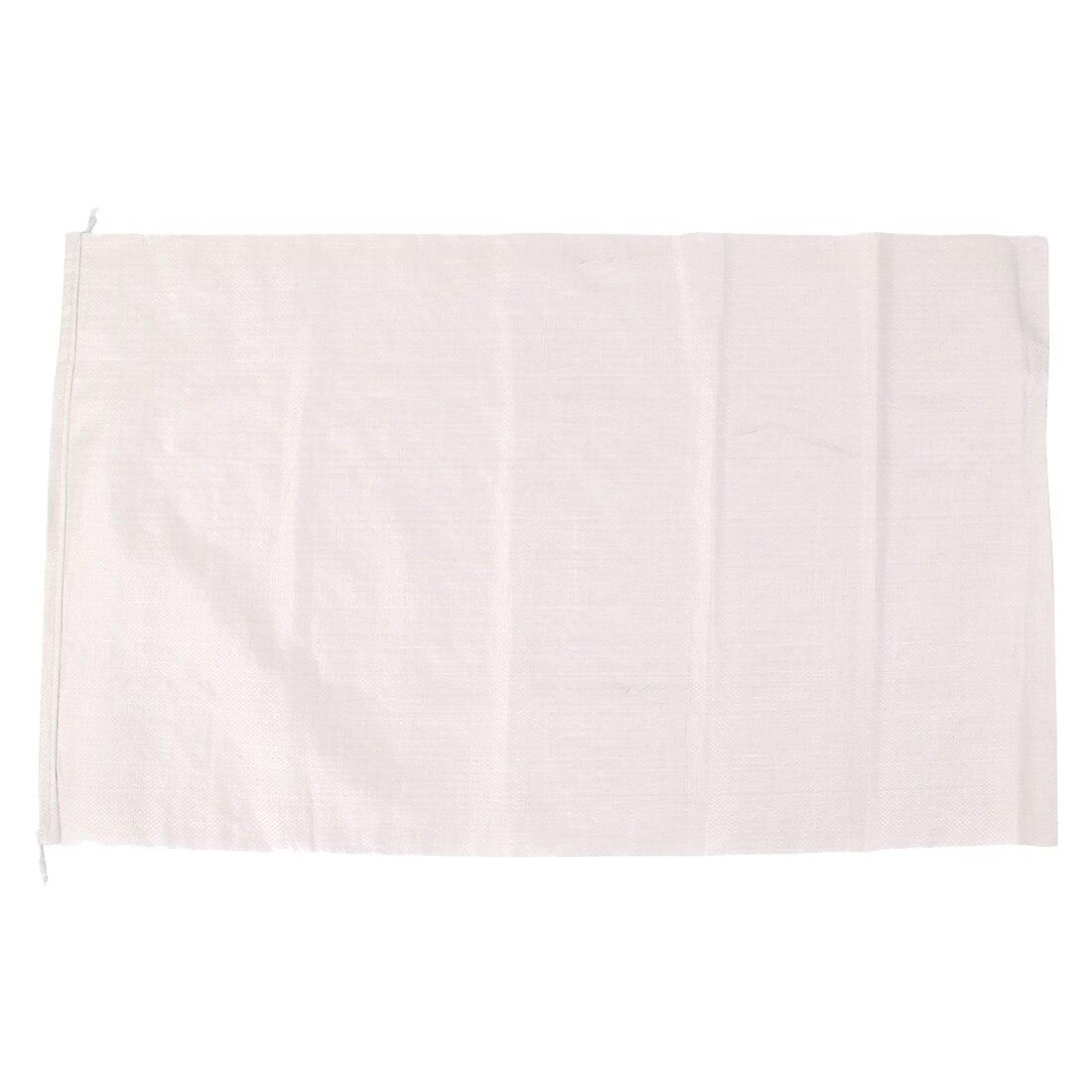 Белые полипропиленовые мешки для мусора