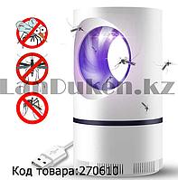 Отпугиватель комаров и мошек бесшумный USB  Photocatalysis Inhaled Mosquito Killer (уничтожитель насекомых)