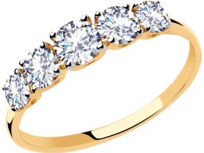 Золотое кольцо Diamant 51-110-00308-1_17