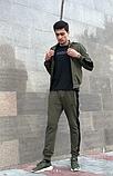 Мужской спортивный костюм хаки, фото 2
