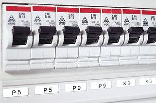 Маркировка контрольных панелей