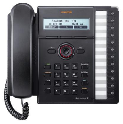 IP телефон LIP-8012E для IP АТС iPECS