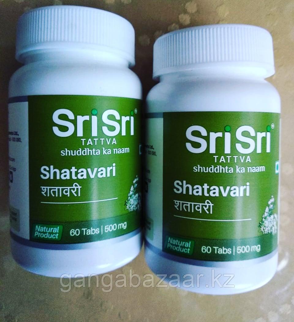 Шатавари Шри Шри татва (Shatavari, Sri Sri Tattva shuddhta ka naam) для женского здоровья, 60 табл
