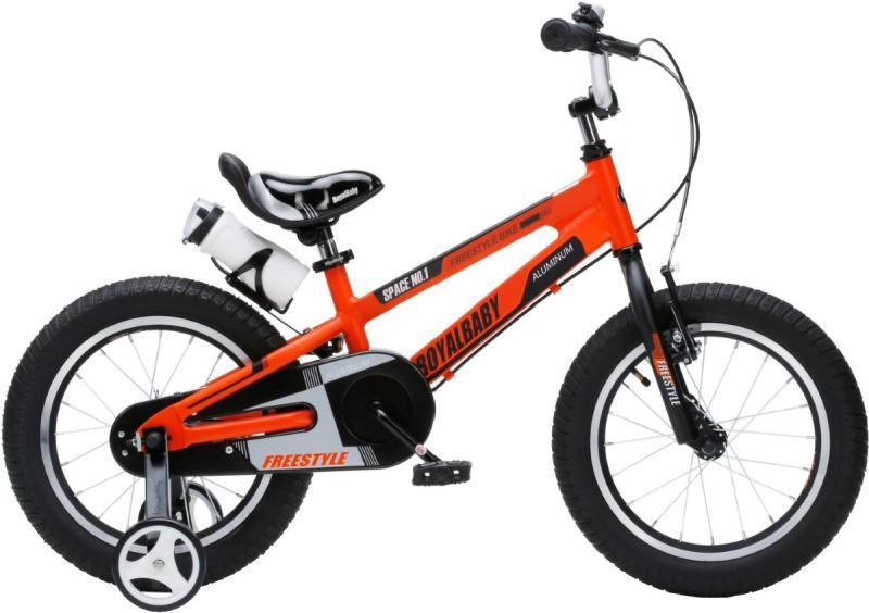 """Детский велосипед двухколесный Royal Baby Space NO.1 Alloy RB16-17 (16"""", Orange)"""