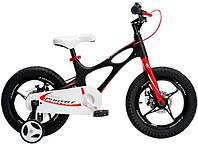 """ROYAL BABY Велосипед двухколесный SPACE SHUTTLE 16"""" Черный BLACK, фото 1"""