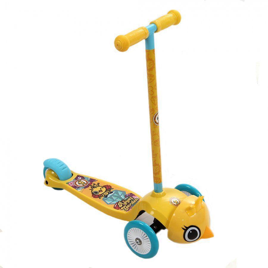 Детский самокат REXCO 3D HPG019 Цыпленок Янни (3-х кол, Yellow)