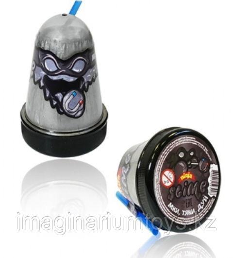 Слайм серебряный магнитный Mega Slime Ninja 130 гр