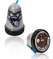Слайм серебряный магнитный Mega Slime Ninja 130 гр, фото 1