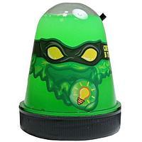 Слайм Ниндзя светится в темноте, зеленый 130 гр, фото 1