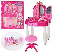 Детский туалетный столик со стульчиком 661-20 музыка и свет, фото 1