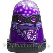 Слайм Вселенная с шариками фиолетовый 130 гр