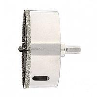 Сверло алмазное по керамограниту, 100 х 67 мм, трехгранный хвостовик Matrix, фото 1