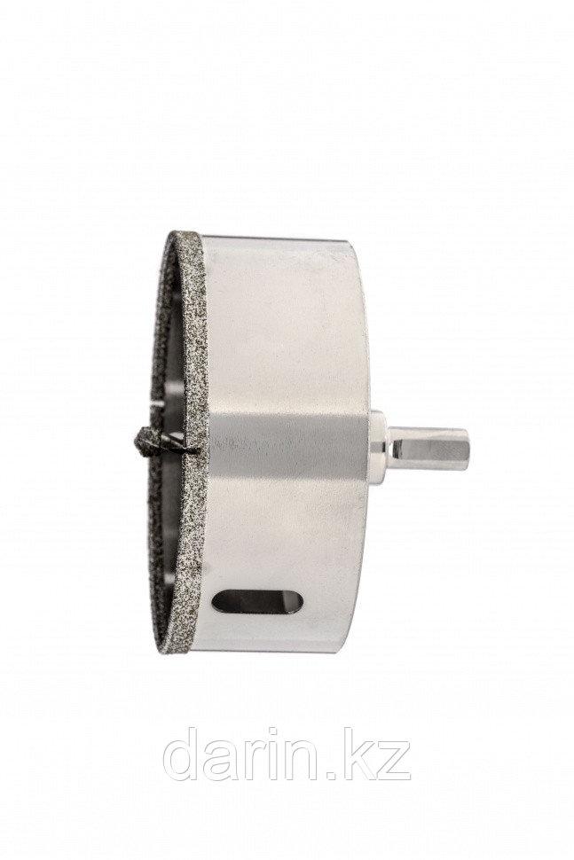 Сверло алмазное по керамограниту, 120 х 67 мм, трехгранный хвостовик Matrix