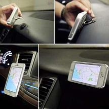 Подставка-держатель с кольцом для телефона на палец (Квадратная, черный), фото 3