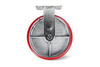 Колесо большегрузное неповоротное PU (FCP 46) 100ММ