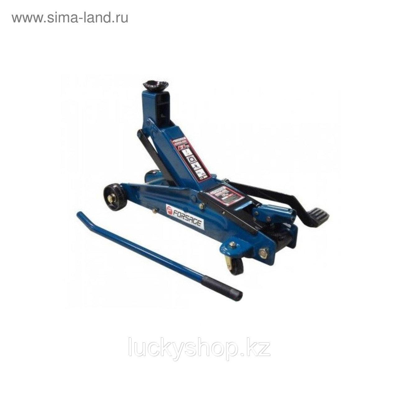 Домкрат подкатной Forsage F-T82257, гидравл., механизм быстрого подъема, 3т, 190-540 мм