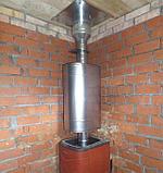 Бак для воды Комфорт 50 л эллиптический на трубе Ф 115., фото 2