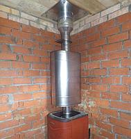 Бак для воды Комфорт 50 л эллиптический на трубе Ф 115., фото 1