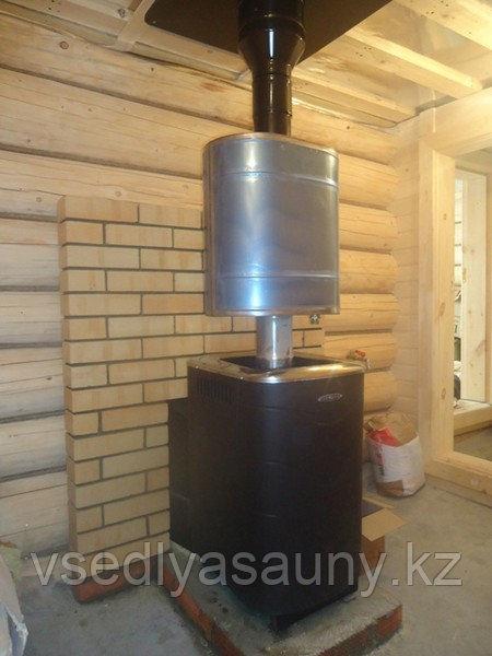 Бак для воды Комфорт 50 л эллиптический на трубе Ф 115.