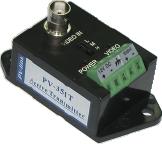 Активный передатчик Видеосигнала по Витой паре 2км PV-351T