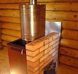 Бак для воды Комфорт 50 л эллиптический на трубе Ф 115., фото 4