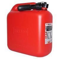 Канистра REXXON для топлива, пластиковая, 10 л, с гибким шлангом и крышкой