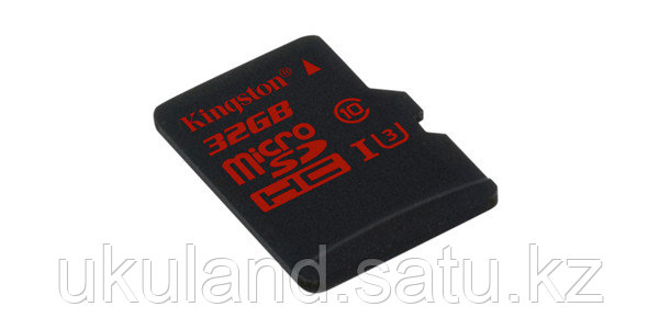 Карта памяти MicroSD 32GB Class 10 U3 Kingston SDCA3/32GBSP