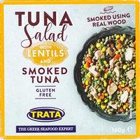 Trata салат с чечевицей и копченым тунцом, 160 гр