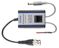 Трансивер видеосигнала, данных и передачи питания на большие расстояния PV-3001D