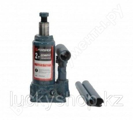 Бутылочный домкрат 2 т с клапаном Forsage F-T90204, фото 2