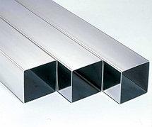 Труба алюминиевая профильная 100х100х4 АД31Т