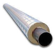 Труба в скорлупе ППУ 1020 , изоляция 100, фото 2