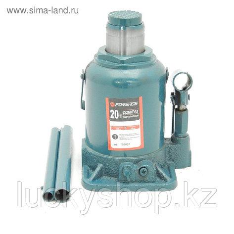 Домкрат бутылочный Forsage F-T92007, 20 т, низкий, с клапаном, 190-335 мм, фото 2
