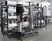 Производство промышленных систем обратного осмоса производительностью от 0,25м3/час до 30 м3/час.