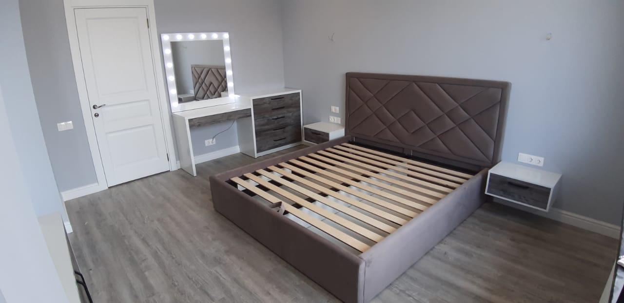 """Кровать """"Мозайка"""" с подъемным механизмом"""
