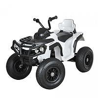 Детский электро-квадроцикл ZHEHUA BDM0906-White (12V/7Ah, 35W*2, надувные колеса, White)